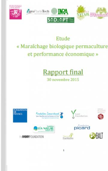★★★☆☆ (France)Maraîchage biologique permaculturel et performance économique