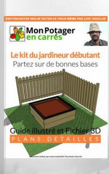 ★★★½☆ (France)Fabriquer soi-même un premier potager en carré.