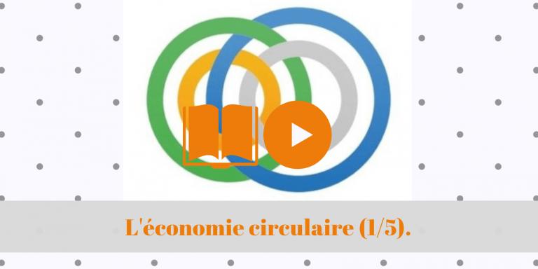 L'économie circulaire (1/5) – Une introduction.
