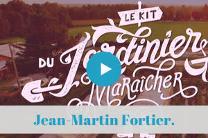 ★★★★★ Canada Film. Le Kit du Jardinier-maraîcher bio.