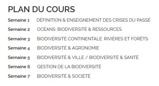 biodiversite, formation, en ligne, permaculture
